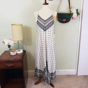 Chelsea&Violet Boho Tassle Handkerchief Dress NWT
